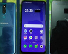 Oppo R19/Oppo F11: Foto-Leak zeigt Pop-up-Selfiekamera und Notch-less Display.