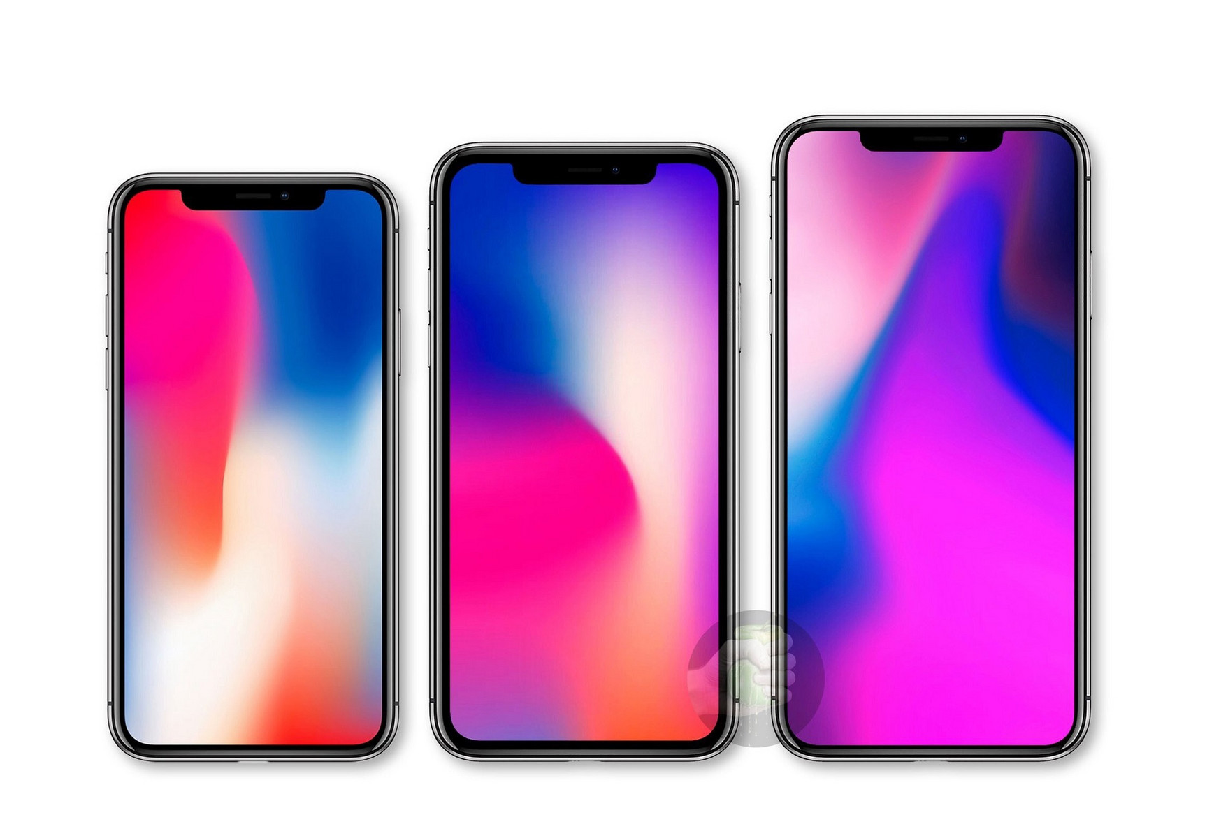 apple leak iphone 9 iphone x 2018 iphone x plus. Black Bedroom Furniture Sets. Home Design Ideas