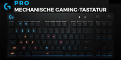 Logitech G Pro Gaming Tastatur: Kompaktes mechanisches Gamer-Keyboard