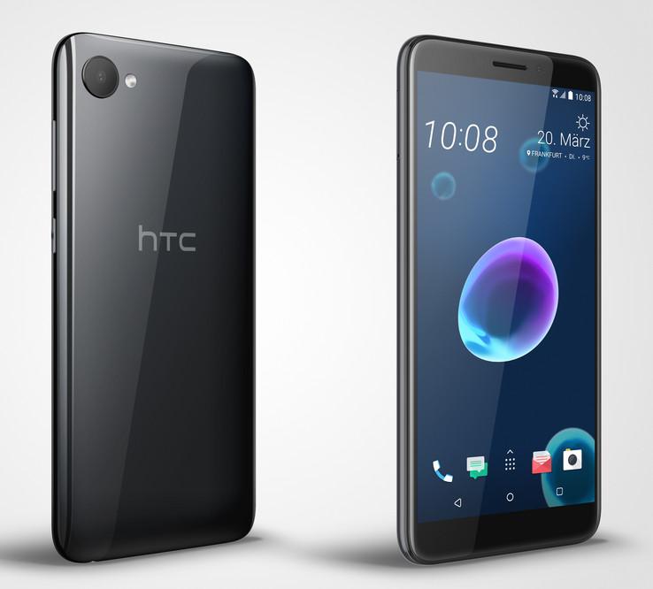 c1fd04c8a95a4 Test HTC Desire 12 Smartphone - Notebookcheck.com Tests