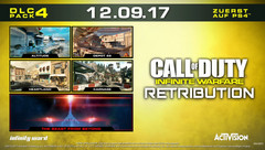 Call of Duty: Infinite Warfare Retribution am 12. September für PS4