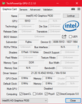 GPU-Z Intel HD Graphics P630