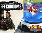 Spielecharts: Team Sonic Racing und Total War Three Kingdoms erobern Charts.