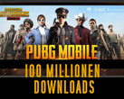 PUBG Mobile: Battle-Royale-Shooter mit mehr als 100 Millionen Downloads.