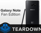 Samsung Galaxy Note Fan Edition: Refurbished Smartphone im Teardown