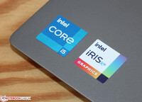 Intel Core i5-1135G7 nebst Iris Xe Graphics G7 80EUs