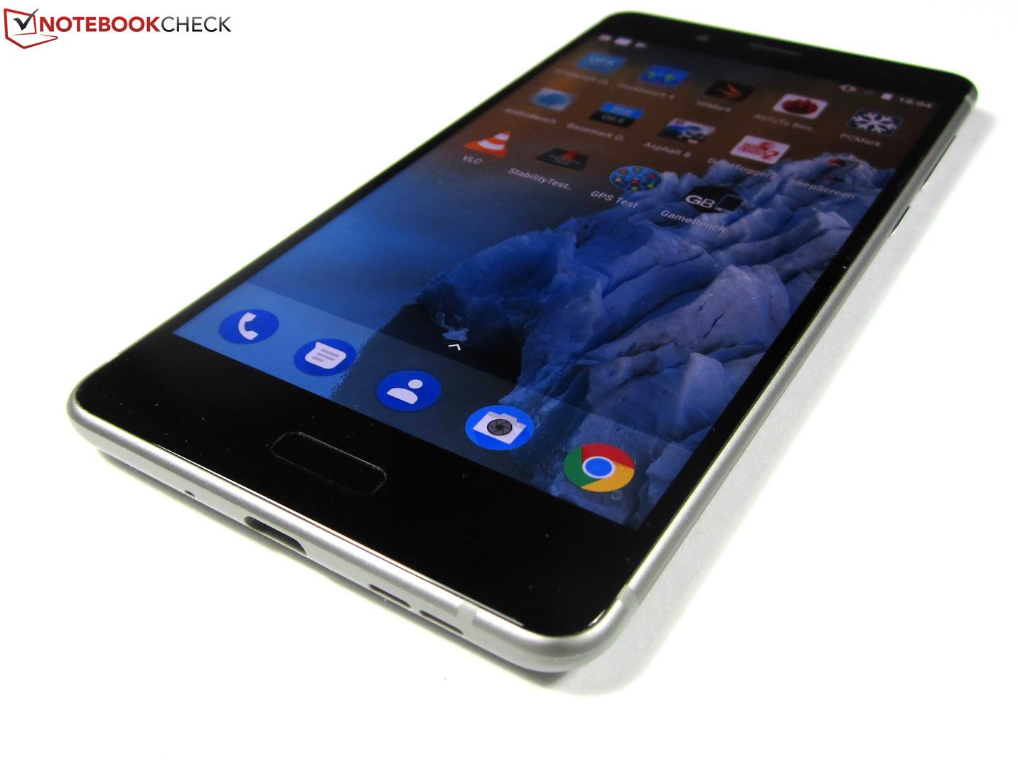 Test Nokia 8 Smartphone Notebookcheckcom Tests