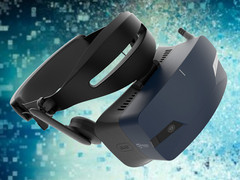 Acer Ojo 500: Windows Mixed Reality Headset mit waschbaren Polstern.