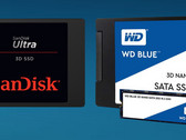 WD: 64-Layer 3D-NAND-SSDs WD Blue 3D und SanDisk Ultra 3D ab Sommer