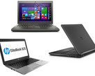 Im Vergleich: HP EliteBook 820 G2 vs. Lenovo ThinkPad X250 vs. Dell Latitude 12 E7250