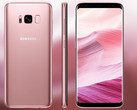 Samsung Galaxy S8: Modell in Rose Pink bei Sparhandy.de