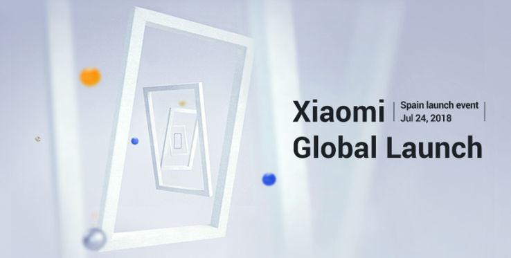 Globales Xiaomi-Launch-Event am 24.7.2018