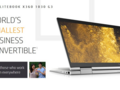DasHP EliteBook x360 G3-Convertible bringt ein 700 nits-Display mit.