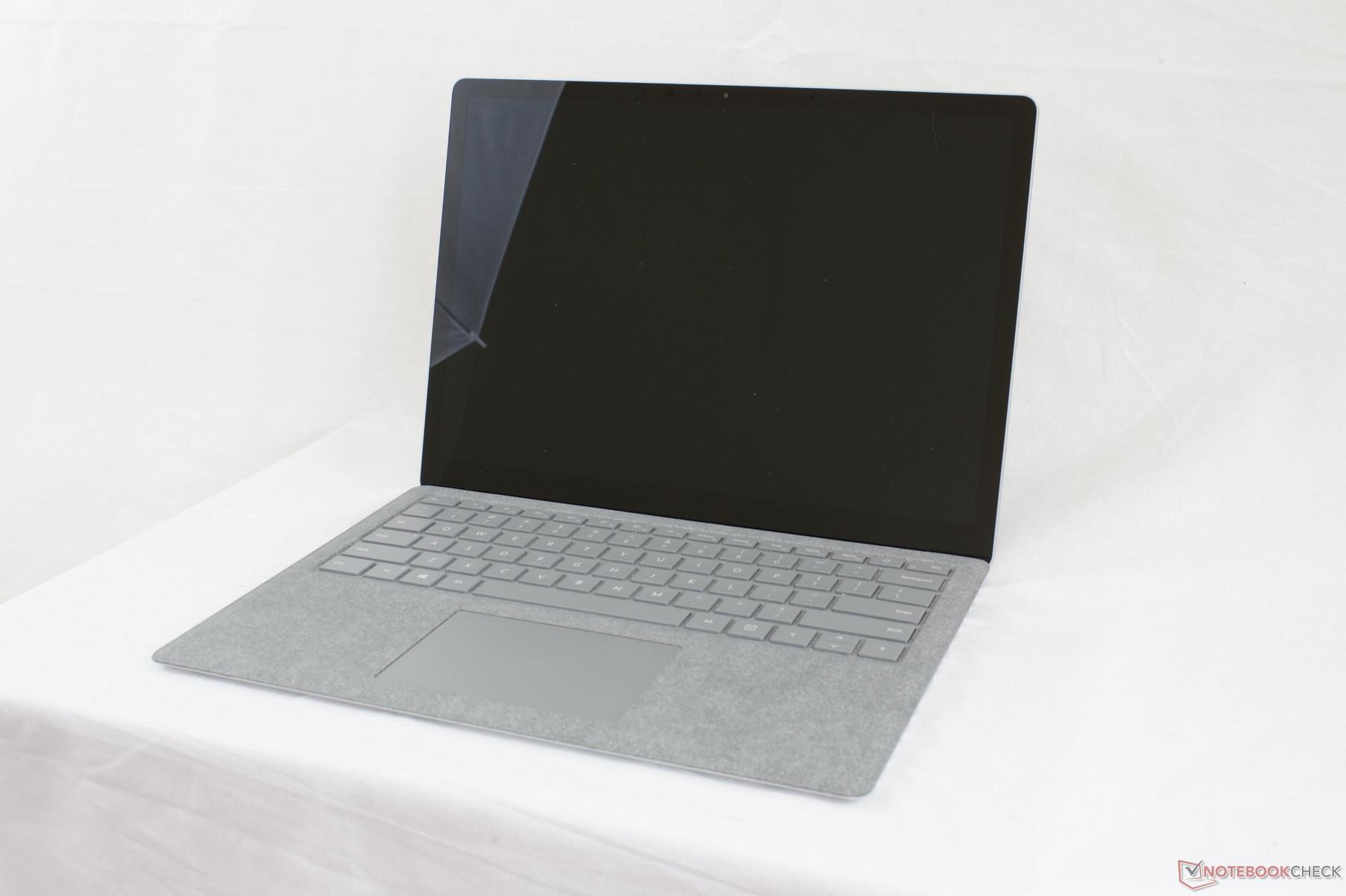 test microsoft surface laptop i7 7660u tests. Black Bedroom Furniture Sets. Home Design Ideas