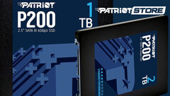 Patriot P200: Low Profile Sata III SSD-Serie geht an den Start.