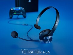 Razer Tetra for PS4: 70 Gramm leichtes Chat-Headset im Ein-Ohr-Design.