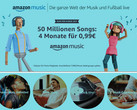 Amazon Prime Day 2018: 4 Monate Amazon Music Unlimited für 1 Euro.