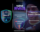 FIFA 21: EA Sports FIFA 21 Global Series mit Fußballern, Promis und FIFA-Superstars.