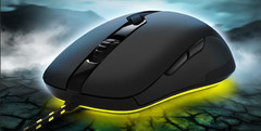 Sharkoon: Shark Zone M52 Gaming Laser Mouse mit acht Tasten