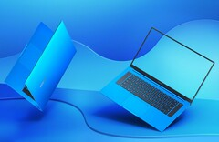 "Sehr attraktiv, das neue ""Charm Starfish Blue""-Finish des Honor MagicBook Pro."