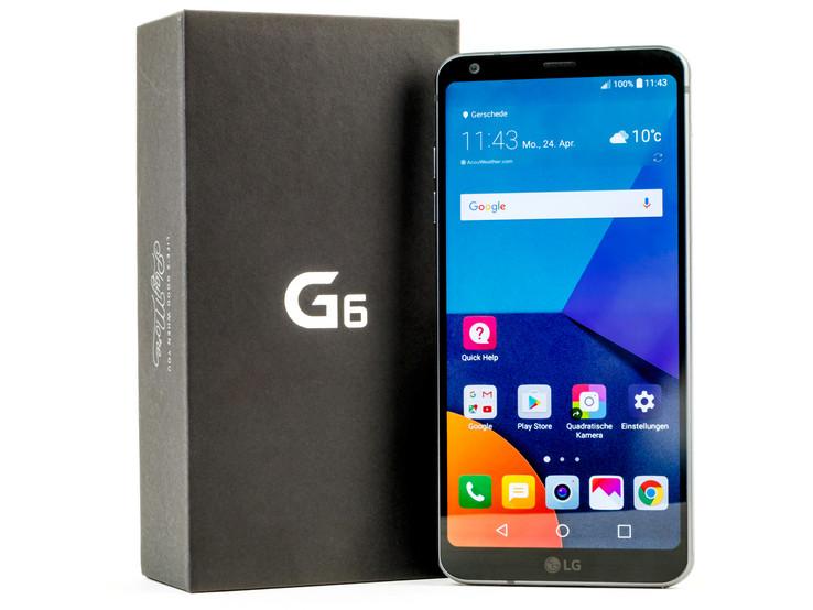 Test Lg G6 Smartphone Notebookcheckcom Tests