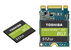 Toshiba: Ultrakompakte Single-Package M.2-SSD liest mit 1,5 GByte/s