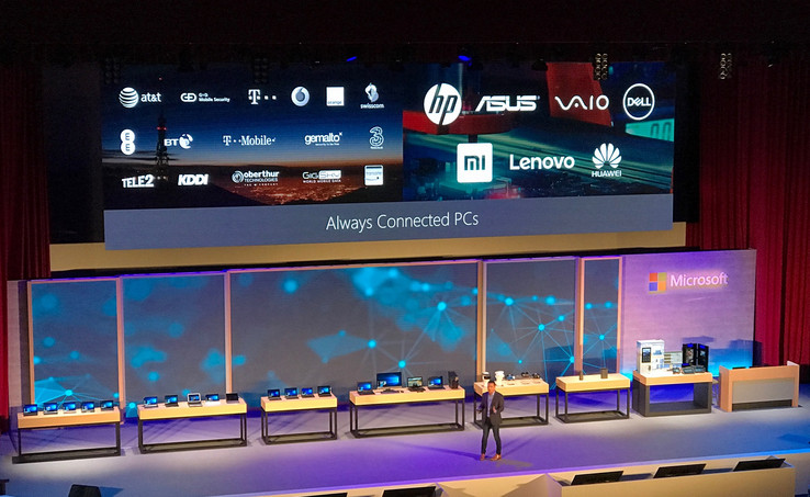 Microsofts Partner für die Always-Connected-PC-Initiative.