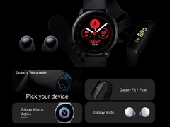 Samsungs Wearable-Kollektion 2019: Galaxy Watch Active, Galaxy Buds und Galaxy Fit sowie Fit e.