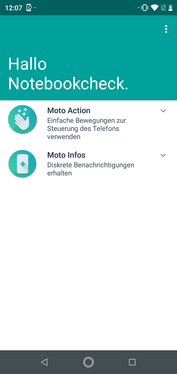 Software Motorola One