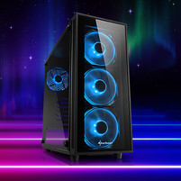 Sharkoon TG4 ATX Midi Tower Blue