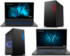 Aldi: Erazer Defender P10 und Beast X10 17 Zoll Gaming-Laptops sowie Engineer X10 und Hunter X10 Gaming-Desktops.