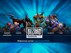 gamescom 2018: Blizzard mit Overwatch, World of Warcraft: Battle for Azeroth, Heroes of the Storm, StarCraft II, Diablo III und Hearthstone.