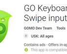 Go Keyboard: Android-App soll Malware sein