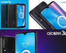 TCL kündigt Alcatel 1S, 3L (2020) und 1B Android 10 Go-Edition an.