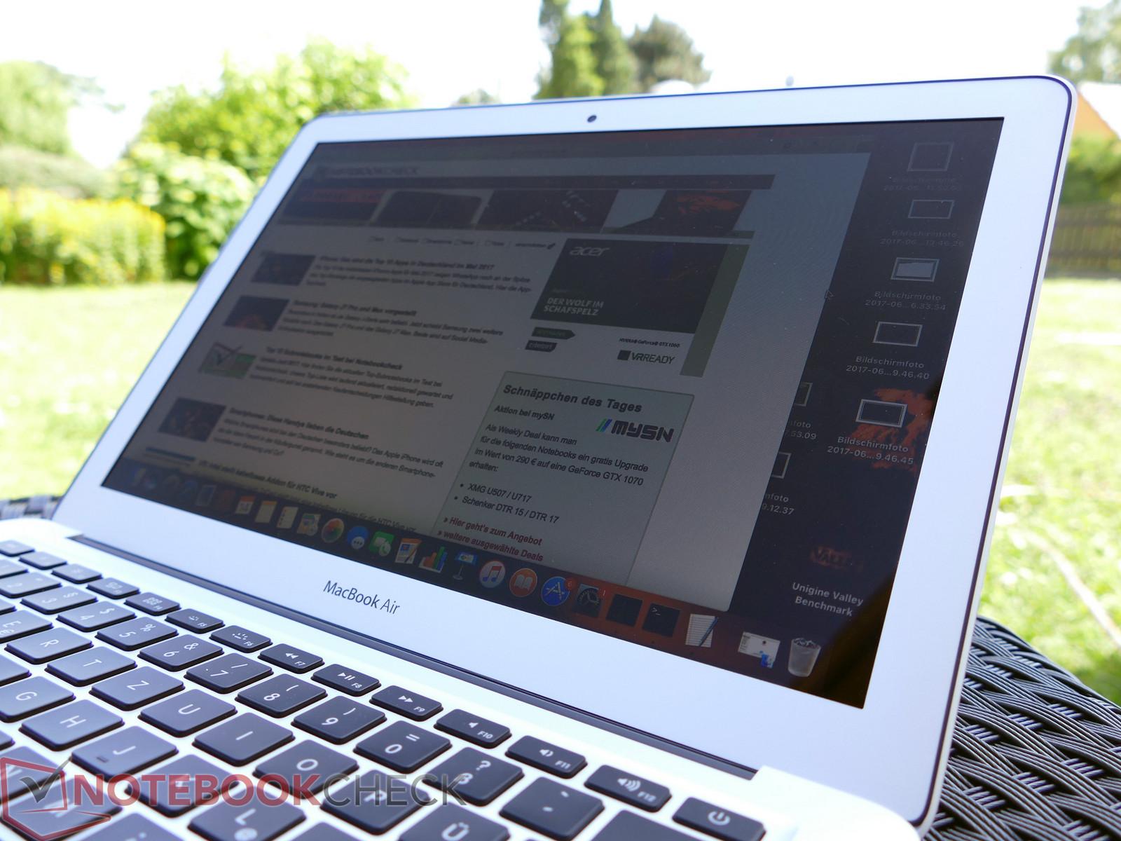 test apple macbook air 13 2017 laptop 1 8 ghz. Black Bedroom Furniture Sets. Home Design Ideas