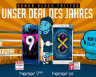Honor Black Friday: Satte Rabatte für Honor 9 und Honor 6X
