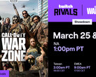 Call of Duty Warzone: Streamer-Showdown von Twitch Rivals.