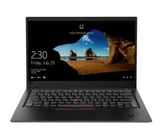ThinkPad X1 Carbon 2018: Wieder mit Touch-Option