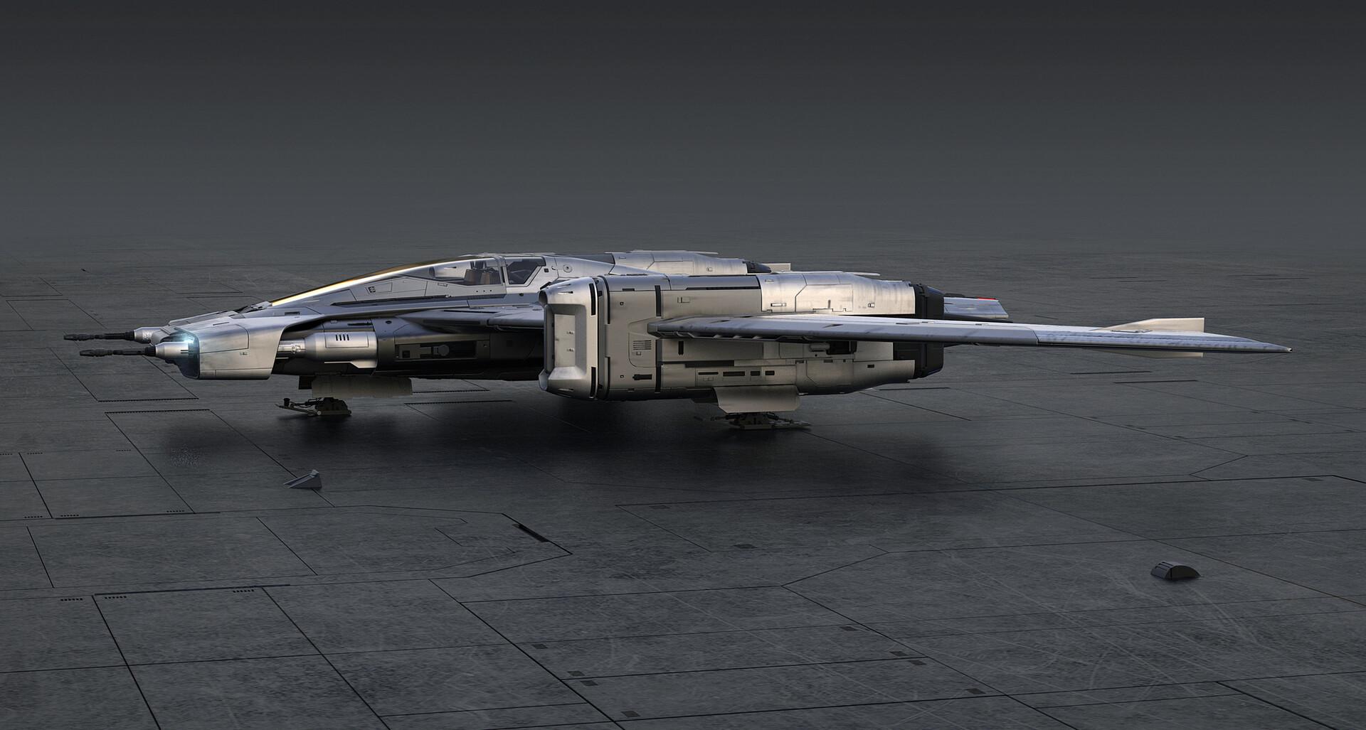 Tri-Wing S-91xPegasus Starfighter: Jetzt hat Porsche ein Raumschiff