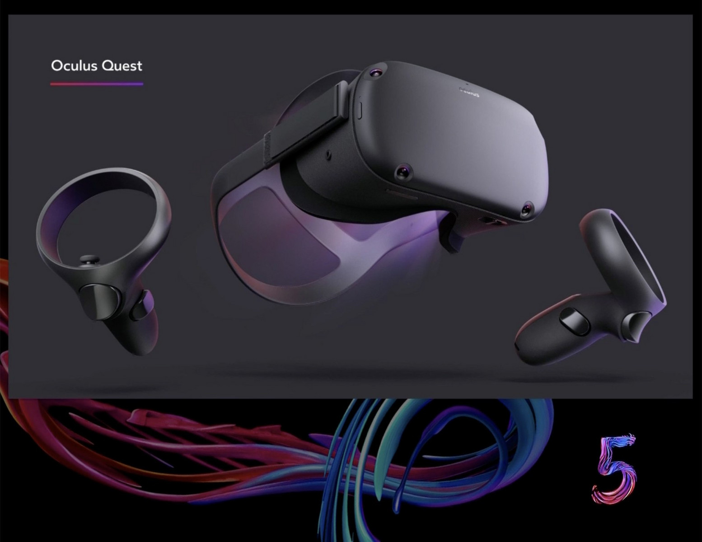 Oculus Quest: Facebook bringt VR-Brille ohne Kabel