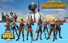Fortnite gegen PUBG: Fortnite dominiert in Europa, PUBG in Asien.