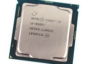 Test: Intel Core i5-8500T (6 Kerne, 6 Threads, 2,1 GHz, 35 Watt) Desktop CPU