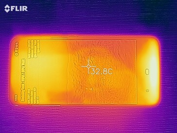 Motorola Moto E6 Plus, Thermal Image
