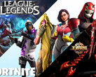 Top-Games im Mai: League of Legends, Fortnite und Honour of Kings.