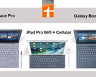 Warentest: Tablets Surface Pro, Galaxy Book 12 und iPad Pro im Test