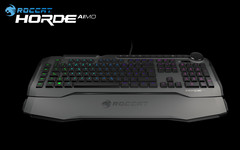 Roccat Horde Aimo Membranical RGB Gaming Keyboard.