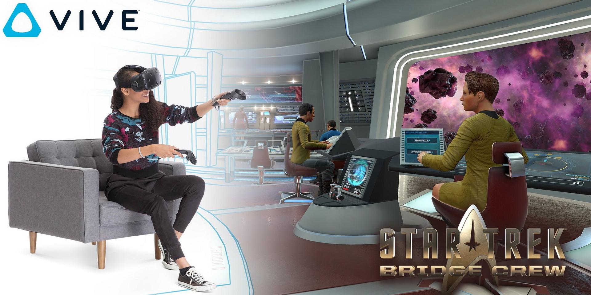 Star Trek: Bridge Crew legt heute ab