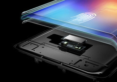 Vivo zeigte am MWC Shanghai Qualcomm's Sense ID-Technologie direkt unter dem Display.