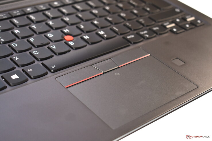 ThinkPad UltraNav: Touchpad + TrackPoint