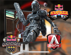 eSports: AOC-Monitore für Red Bull Guardians und Red Bull Kumite Events.